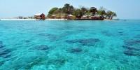 Samalona Island at Sulawesi Indonesia
