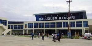 Haluoleo Airport Kendari Sulawesi