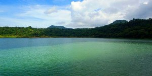 Linow lake, north Sulawesi