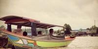 traditional motor boat Sulawesi