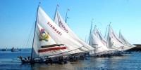 sandeq boat festival at Manakarra beach