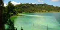 Linow lake views, north Sulawesi.