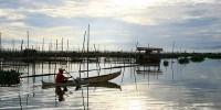 Boat on Lake Limboto