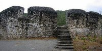 stair at Otanaha Fort Gorontalo
