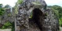 One corner of the fort Otanaha Gorontalo