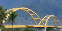 Palu IV bridge, Sulawesi