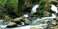 River at Wera Tour Park, Central Sulawesi