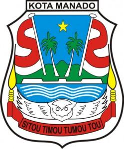 Logo of Manado City, Sulawesi