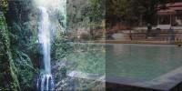 Bathing and Lombongo Waterfall